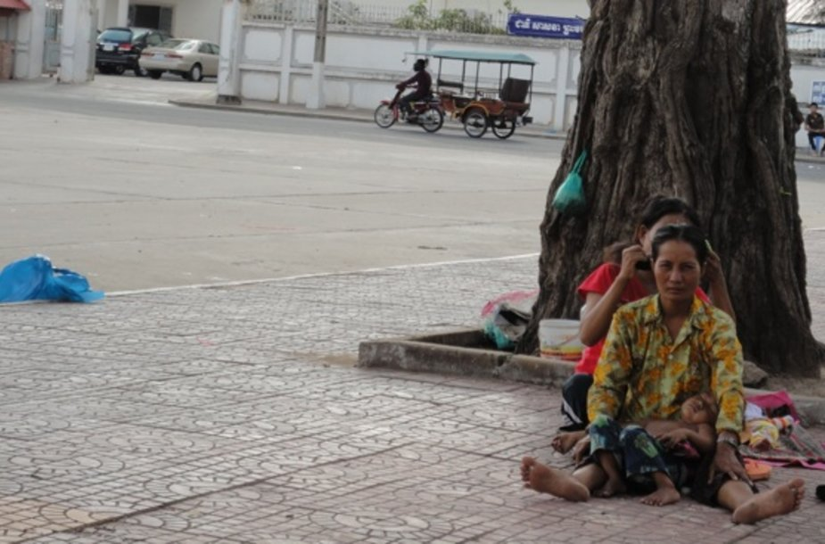 Kambodžos skurdas