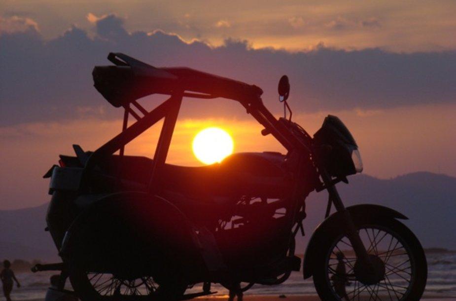 Saulėlydis Filipinuose