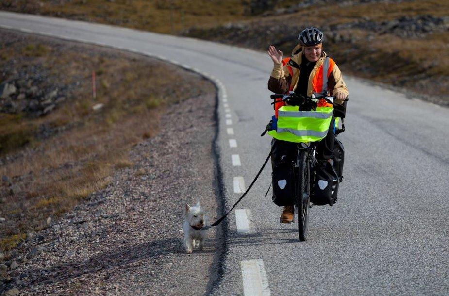 Tulku ir Kira keliauja per Norvegiją