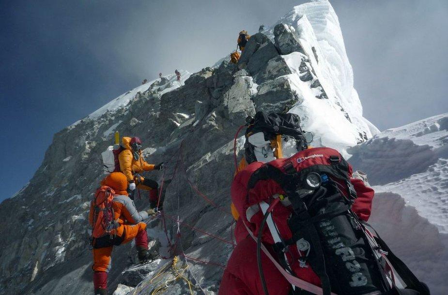 Everestas – kiekvieno alpinisto žydroji svajonė