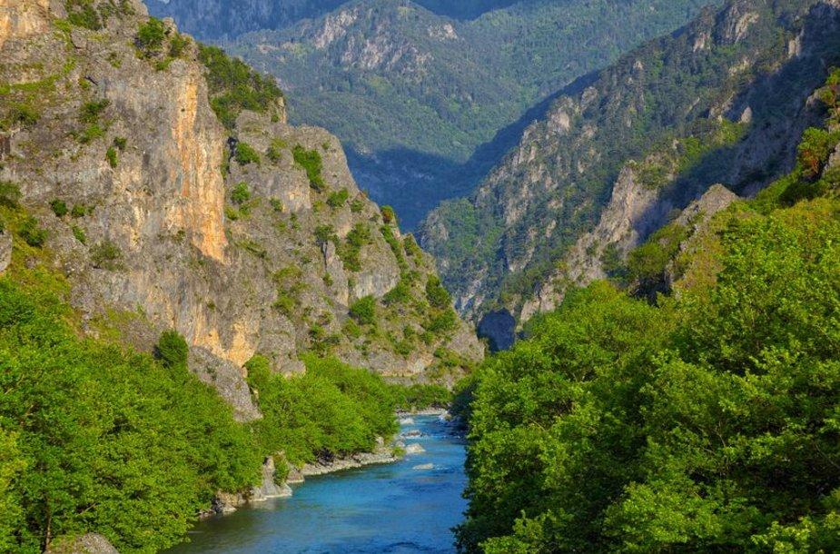 Graikijos Vikos-Aoos nacionalinis parkas paskelbtas pasauliniu gamtos paminklu