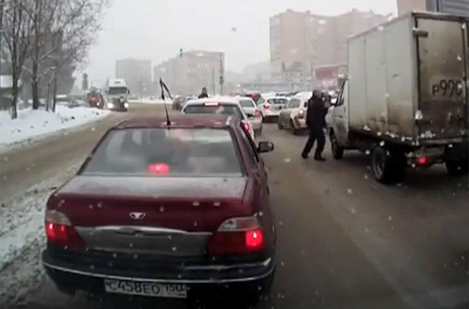 Nesutarimai Rusijos gatvėje