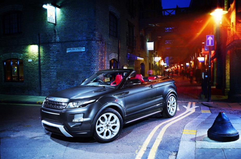 """Range Rover Evoque"" kabrioletas"