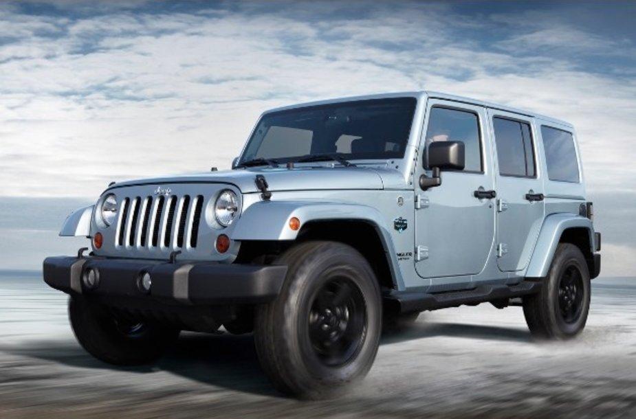 """Jeep Wrangler"" didins gamybos apimtis."