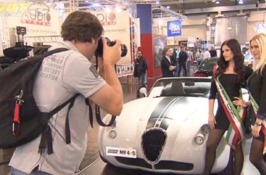Eseno automobilių paroda Vokietijoje