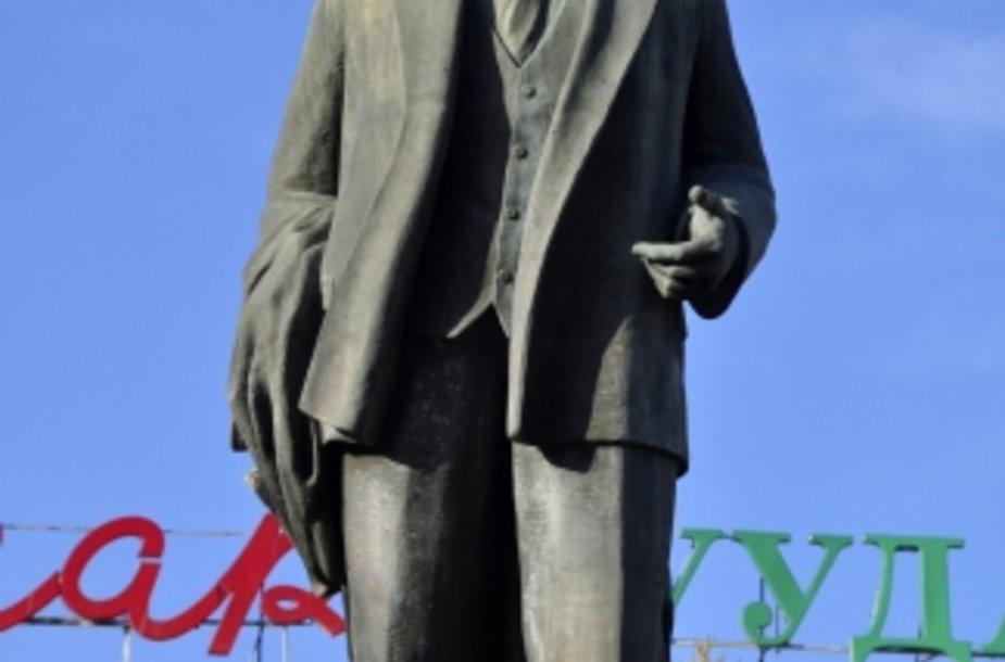 Vladimiro Lenino skulptūra Ulan Batoro centre.