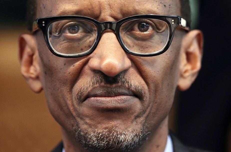 Ruandos prezidentas Paulas Kagame