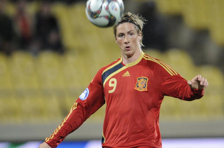 Игрок сборной Испании Фернандо Торрес - один из самых дорогих футболистов мира.