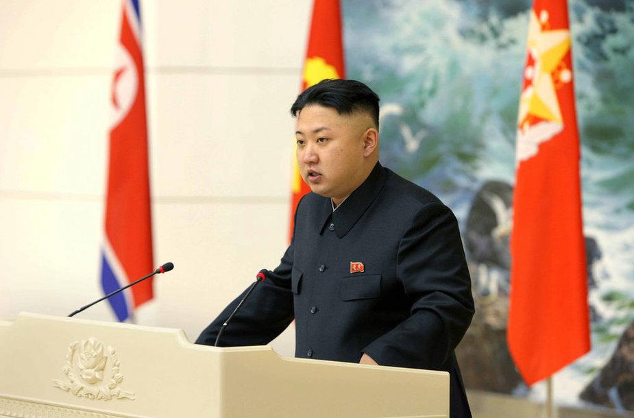 Лидер Северной Кореи Ким Чен Ын.