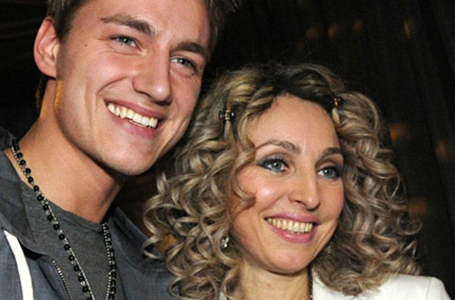 Воробьев и его продюсер Катерина фон Гечмен-Вальдек.
