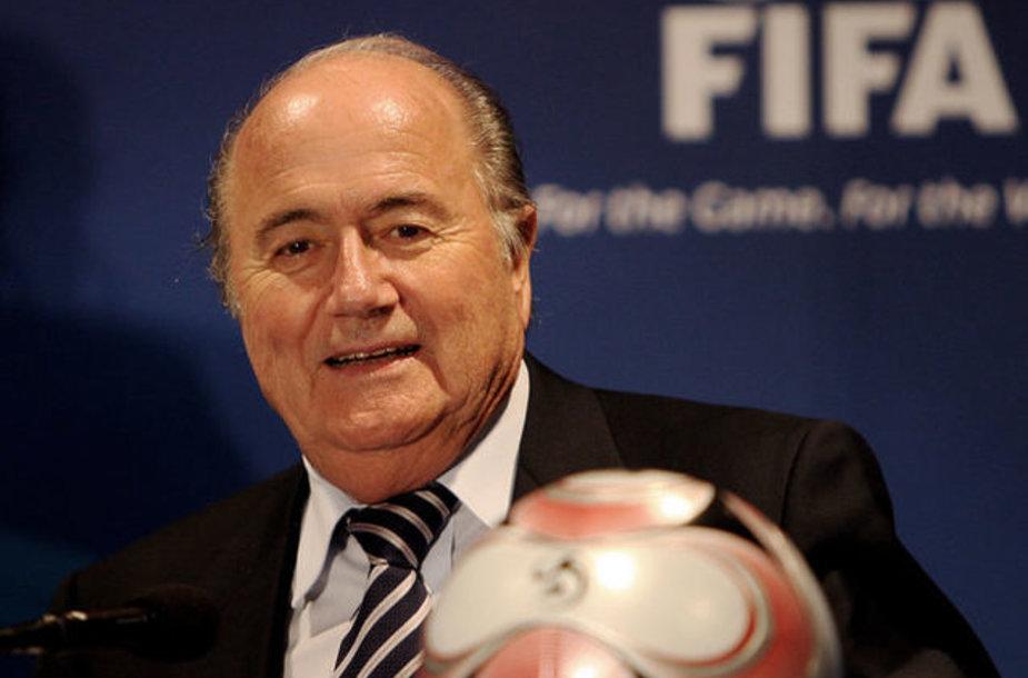 Глава ФИФА Зепп Блаттер.