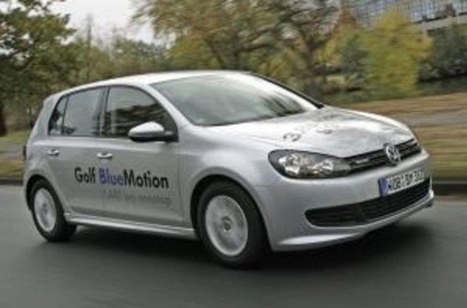 Volkswagen Golf BlueMotion.
