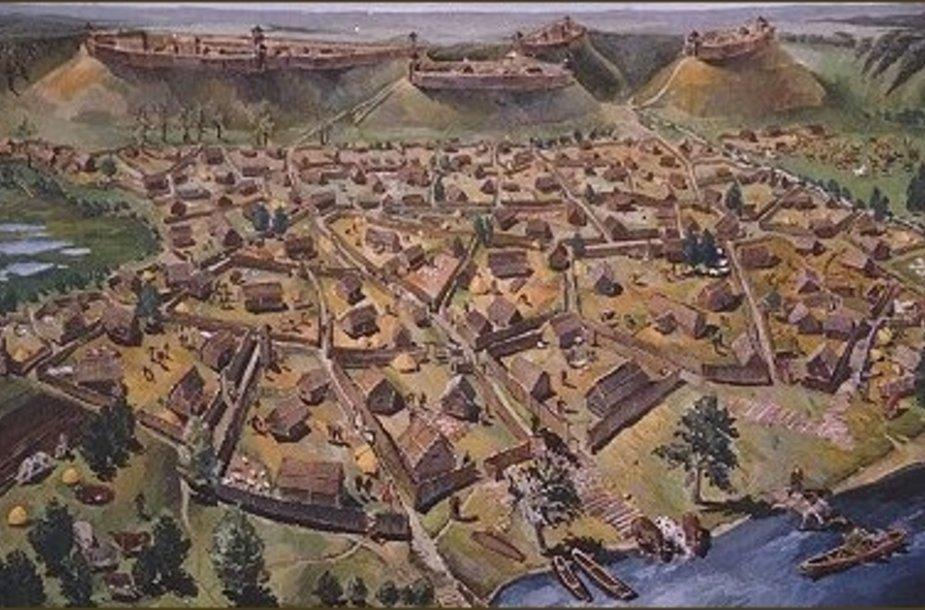 Viduramžių Kernavės miestiečiai kentėjo nuo neprivalgymo, parazitų ir ligų