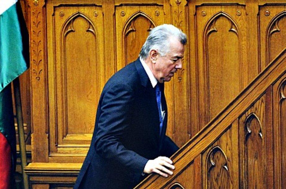 Отставка ппрезидента Венгрии