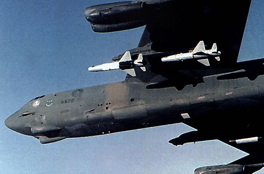 Ядерное оружие на борту самолета