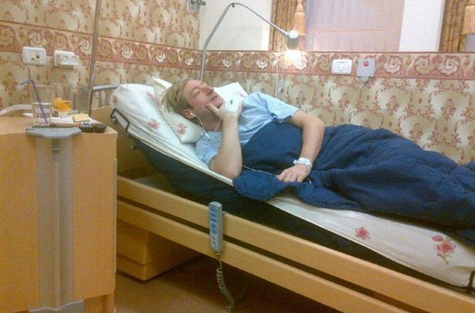 Евгений Плющенко после операции