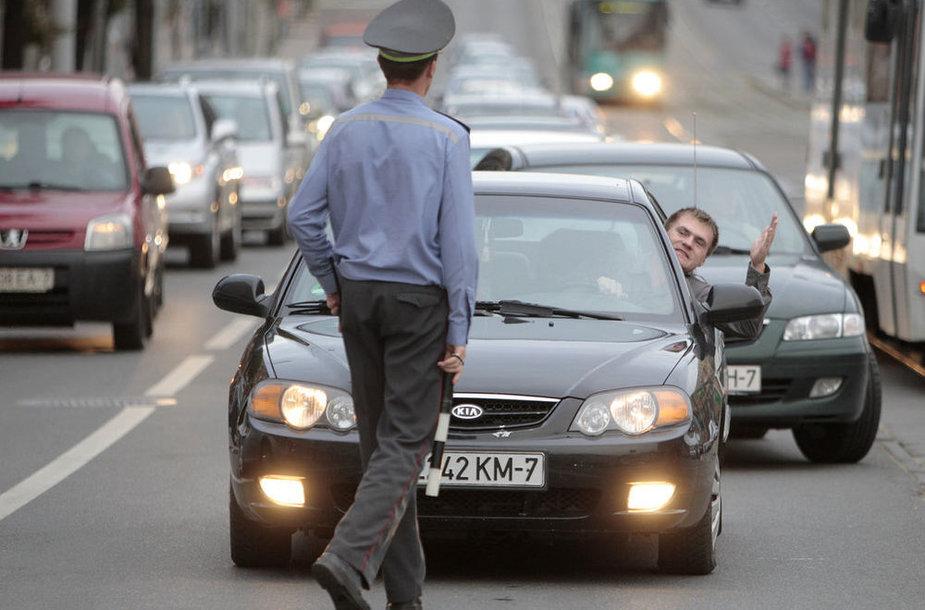 На улицах Минска