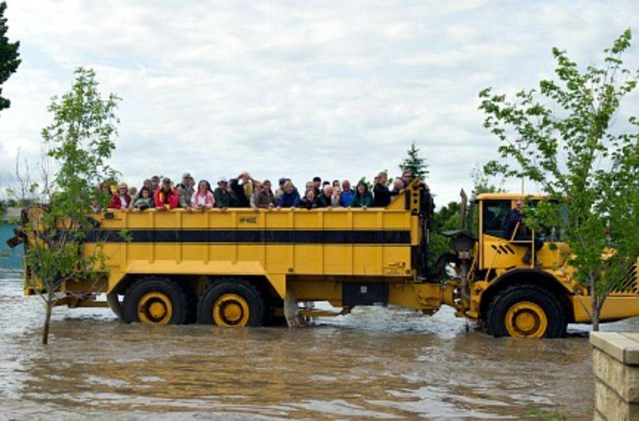 В Канаде готовится массовая эвакуация из-за наводнений