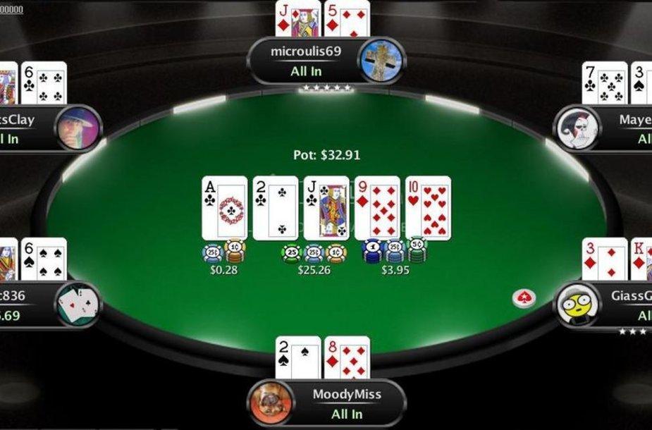 """100-milijardinė """"PokerStars"""" partija / PokerStarsBlog.com nuotr."""