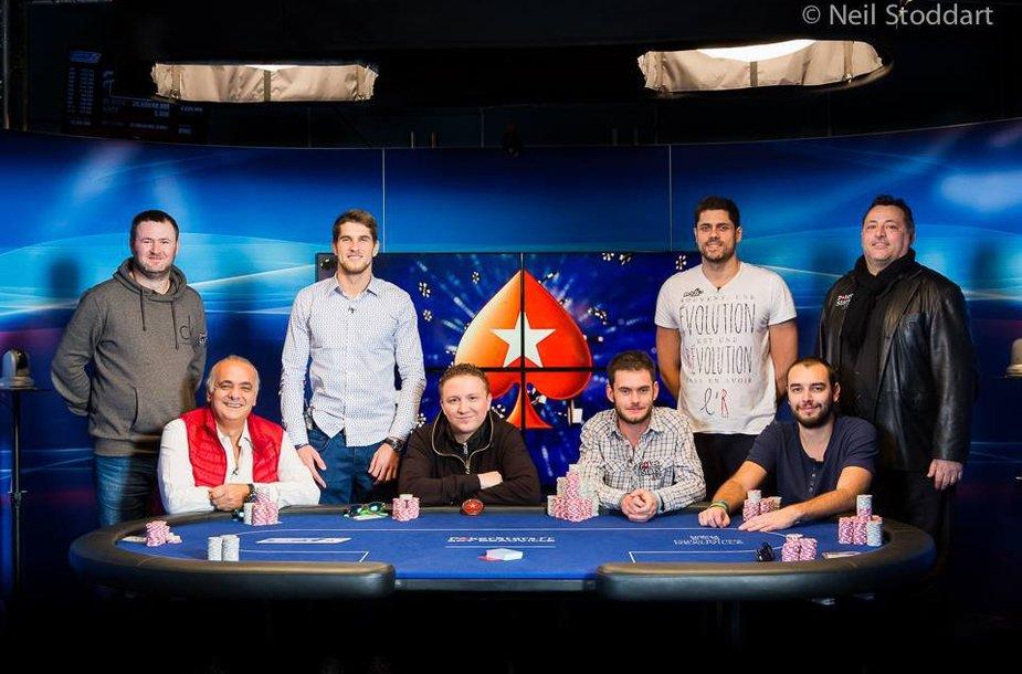 EPT Dovilio finalininkai / PokerStars.net nuotr.