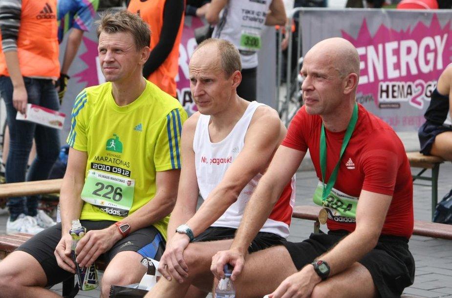 Rolandas Kazlas (kairėje) ir Ignas Staškevičius (dešinėje)