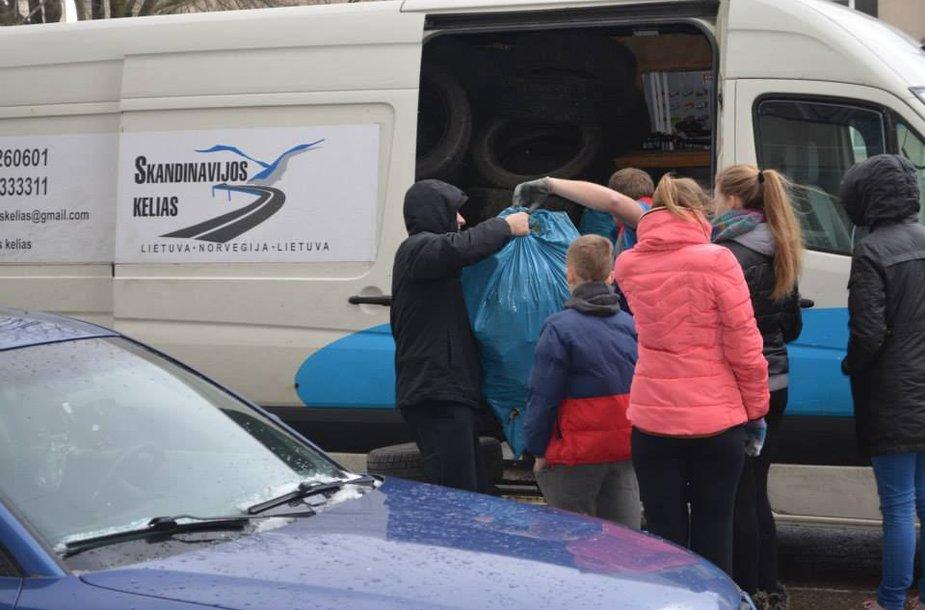 Siuntiniai į Norvegiją gabenami kiekvieną savaitę