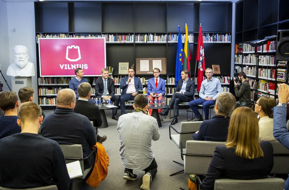 Artūras Zuokas, Remigijus Šimašius, Ramojus Girinskas, Dainius Kreivys, Martynas Nagevičius