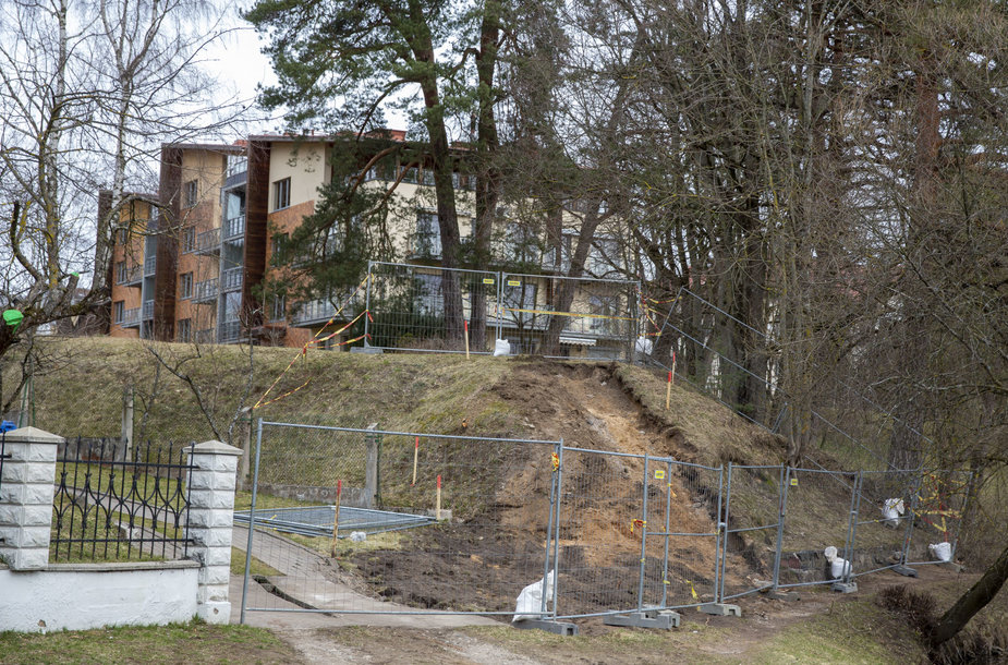 Žvėryne, Latvių g. vykdomos statybos
