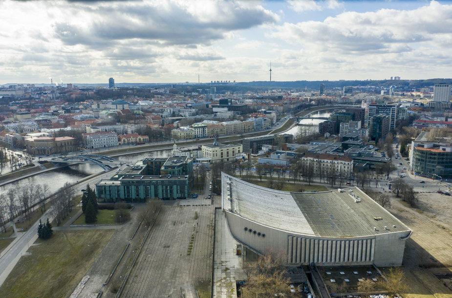 Vilniaus koncertų ir sporto rūmai – pastatas sostinės centre