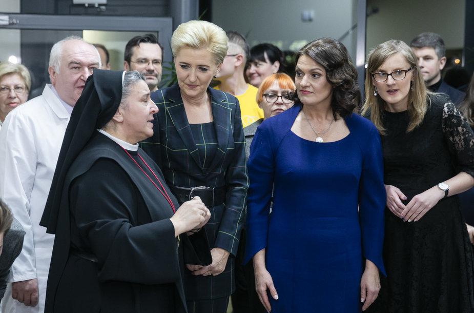 Michaela Rak, Diana Nausėdienė, Agata Kornhauser-Duda