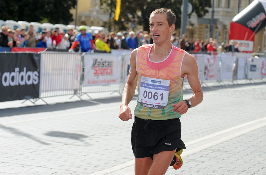 Tarptautinio Vilniaus maratono akimirka