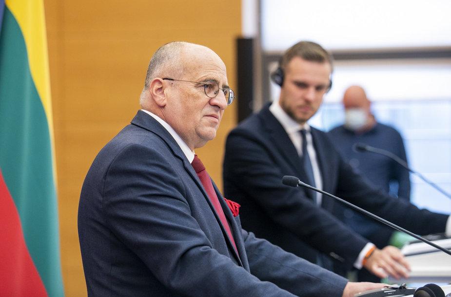 Gabrielius Landsbergis, Zbigniewas Rau