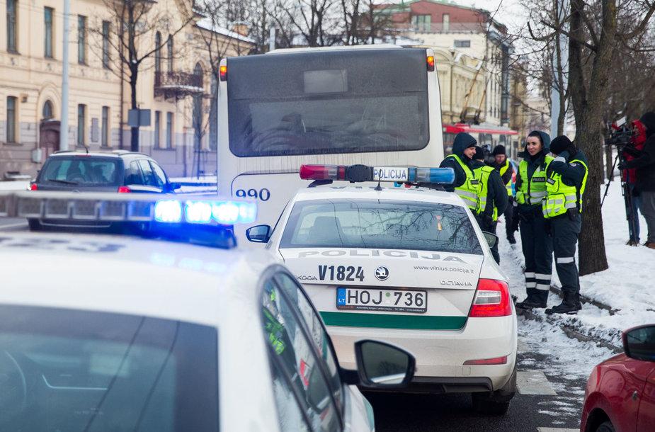 Vilniuje autobusas užgavo pėsčiąjį