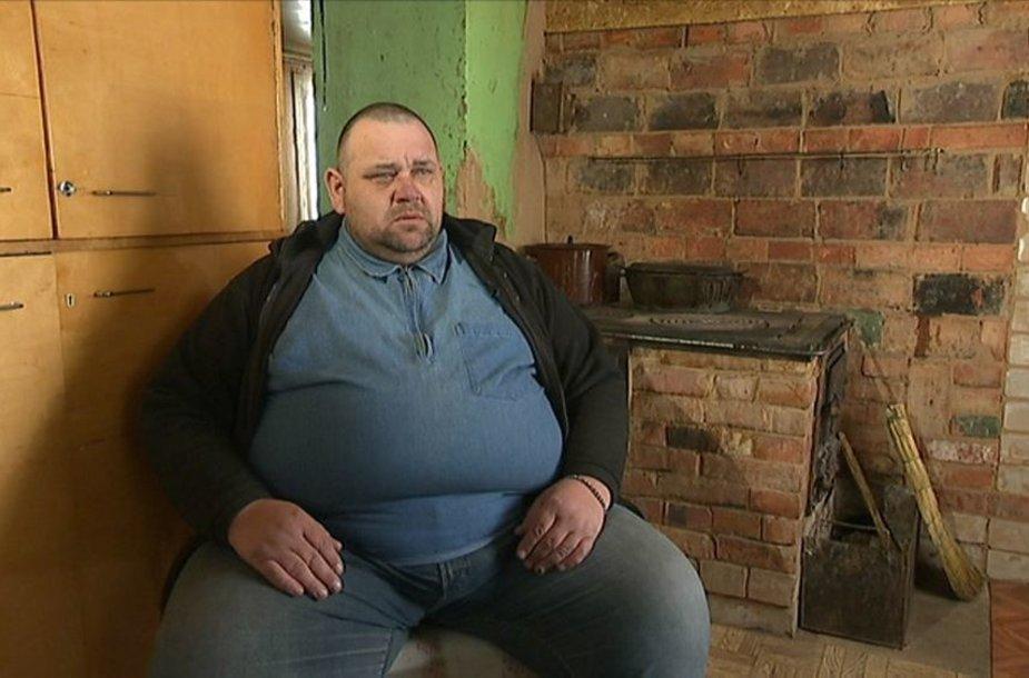 Rolandas Onusaitis prieš skrandžio užveržimo operaciją
