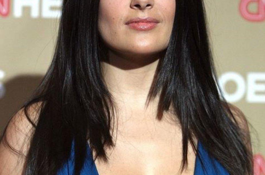 5 vieta – aktorė Salma Hayek