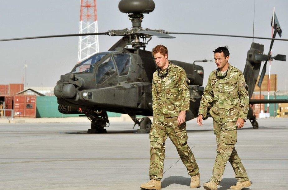 Pricas Harry Afganistane