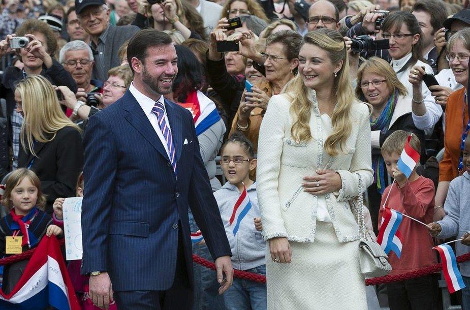Princas Guillaume'as ir grafaitė Stephanie de Lannoy