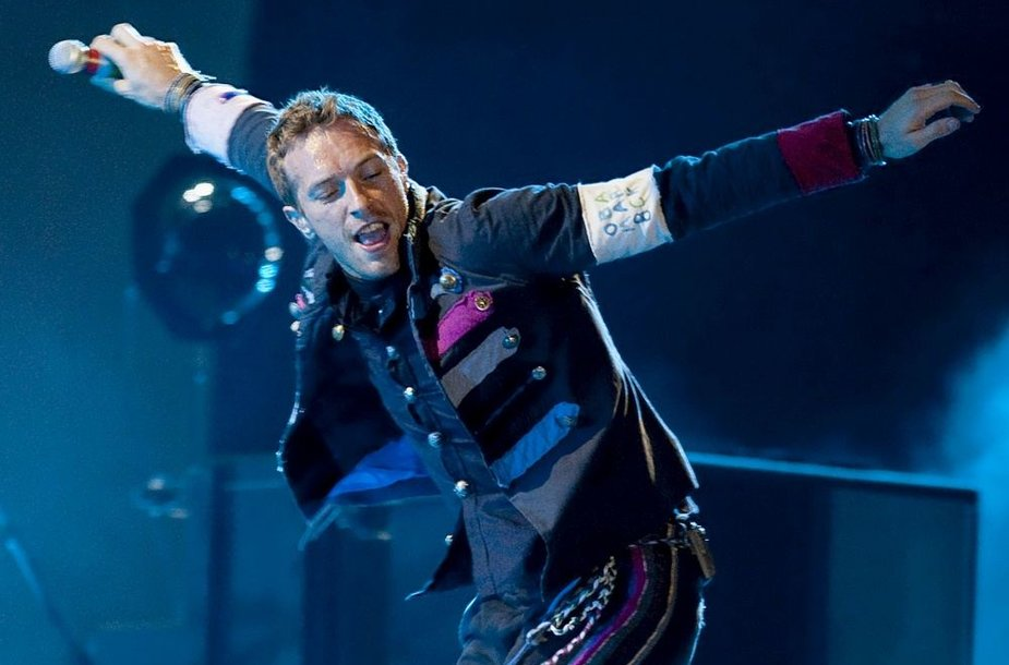 """21 vieta – britų grupė """"Coldplay"""" – 37 mln. JAV dolerių"""