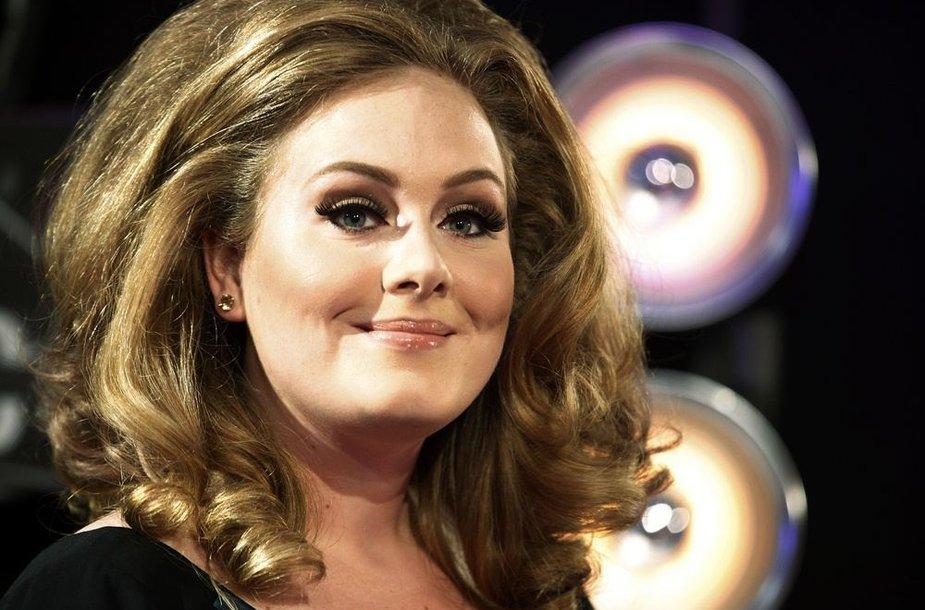 14 vieta – britų dainininkė Adele