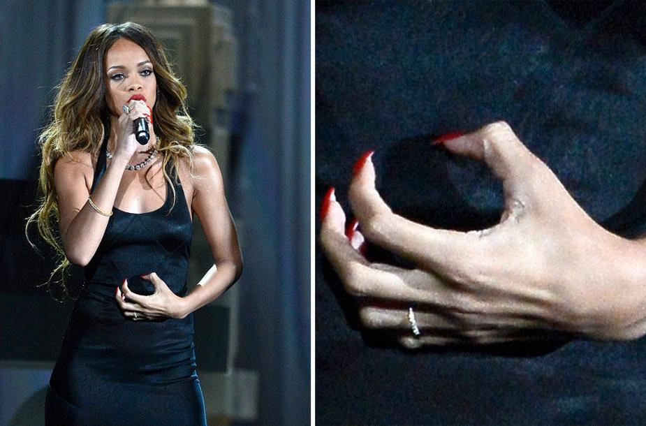 Rihanna ir jos žiedas