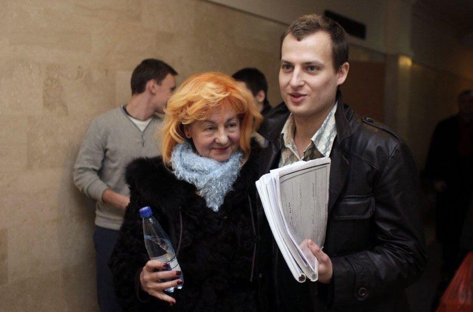 Tadas Lukoševičius ir Dalia Lukoševičienė