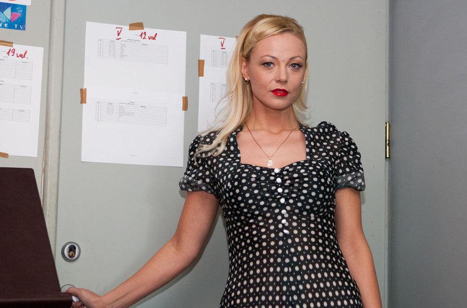 Vilija Pilibaitytė-Mia įkūnijanti Gwen Stefani