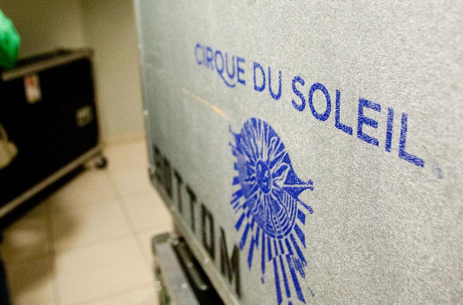 """Cirque du soleil"" užkulisiai"