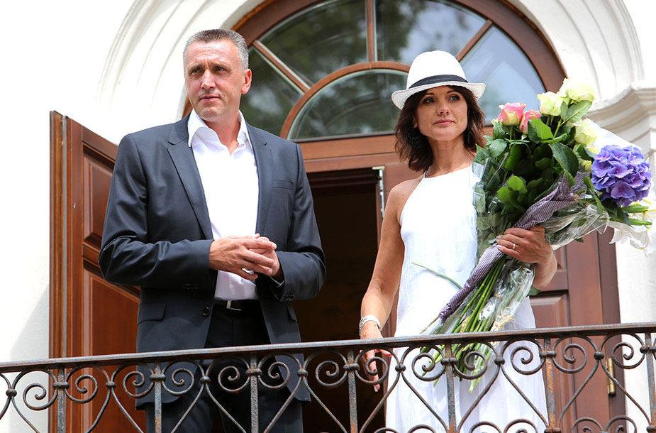Valdas Ivanauskas ir  Laima Ivanauskienė