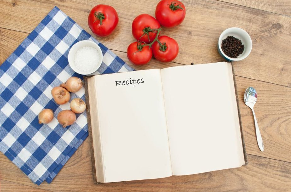 Šiuolaikinė statistinė šeimininkė naudojasi ne daugiau kaip 10 patiekalų receptų.
