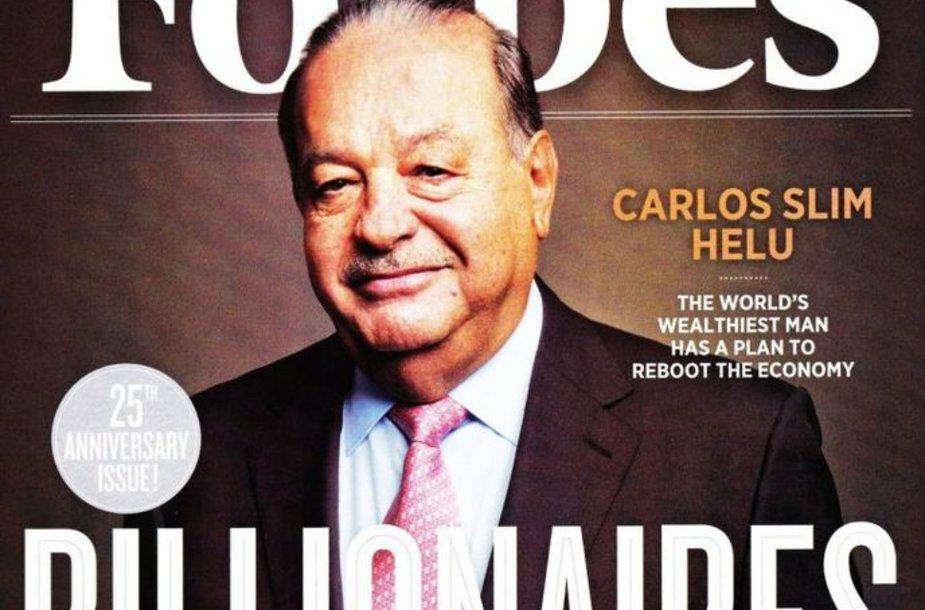 """Žurnalas """"Forbes"""" – įtakingas leidinys."""