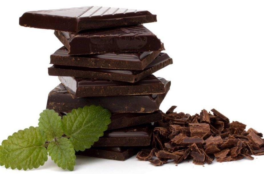 Šokoladas ir mėtos