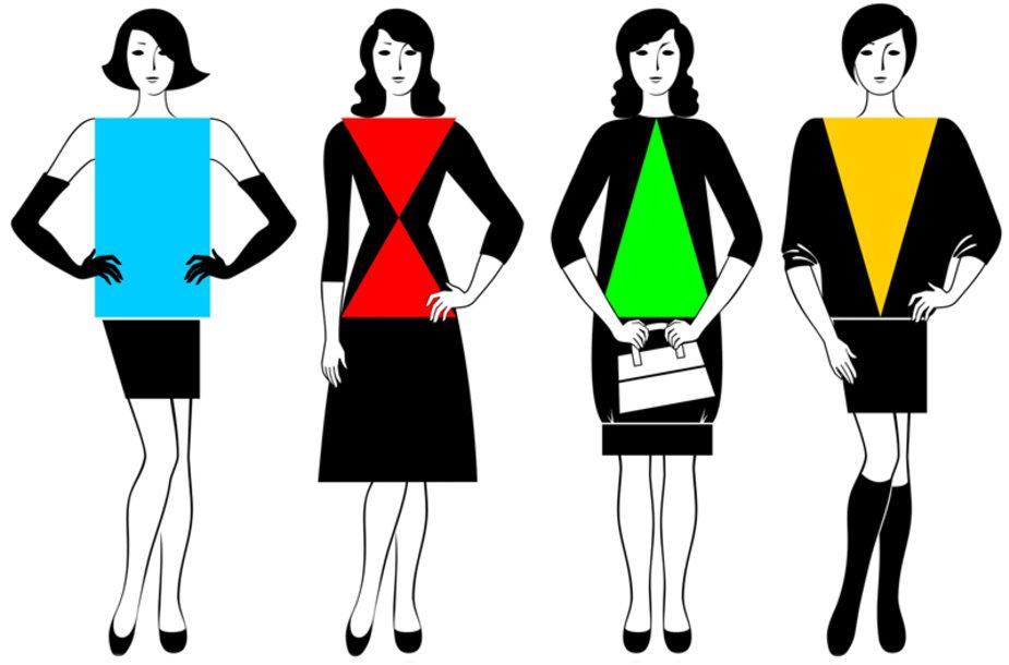 Suknelės pagal figūrą