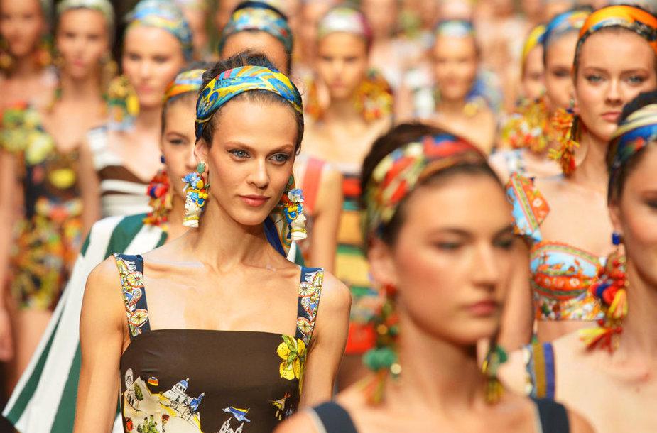 Dolce & Gabbana 2013 m. pavasario / vasaros kolekcija.