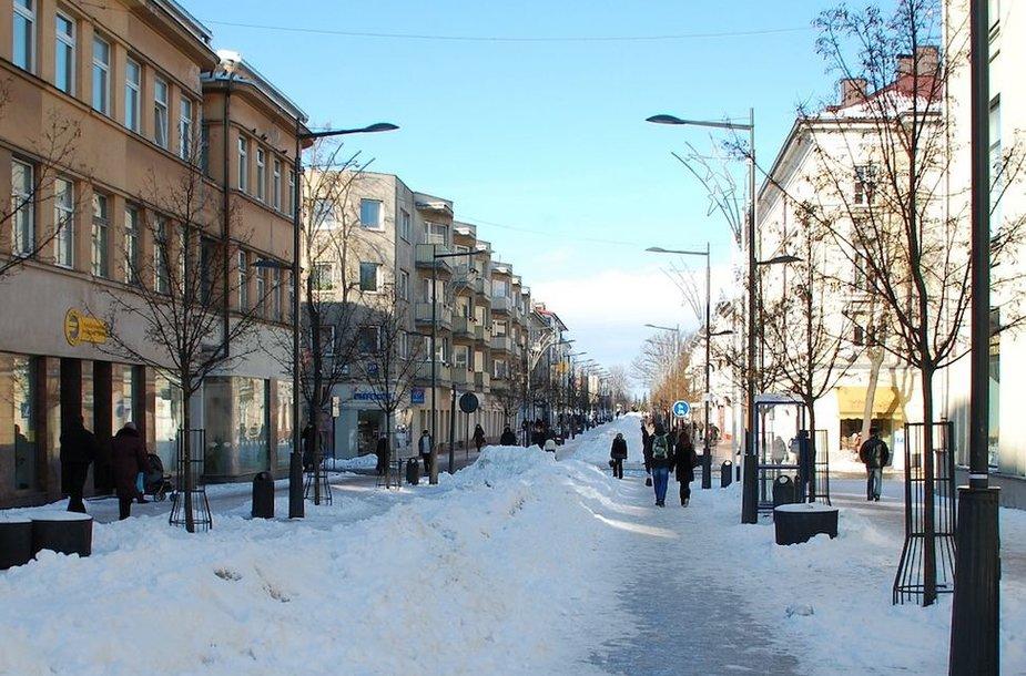 Vilniaus gatvė Šiauliuose